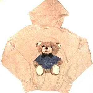 Naturali Teddy Bear VTG Sweater Hoodie Moschino M